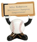 Ball Head Baseball Resin Figures Ball Head Resin Trophy Awards