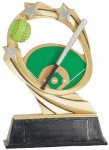 Softball Cosmic Resin Trophy Cosmic Resin Trophy Awards
