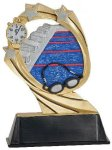 Swimming Cosmic Resin Trophy Cosmic Resin Trophy Awards