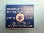 K of C Name Badge Name Badges | Plates