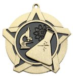 Science Super Star Medal  Gold Super Star Medal Awards