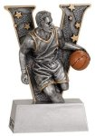 Male Basketball V Series Resin V Series Resin Trophy Awards