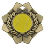 Imperial Softball Medals Wreath Medal Awards