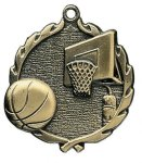 Wreath Basketball Medals Wreath Medal Awards