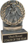 Wrestling - Wreath Resin Trophy Wreath Resin Trophy Awards