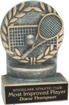 Tennis - Wreath Resin Trophy Wreath Resin Trophy Awards